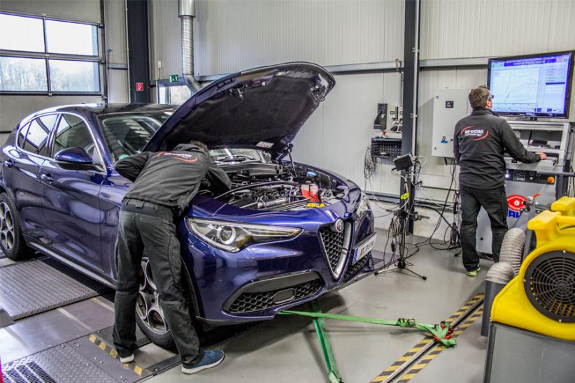 DTE-Tuning für den Alfa Romeo Stelvio