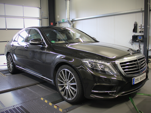 DTE chiptuning pre Mercedes S350 Euro6