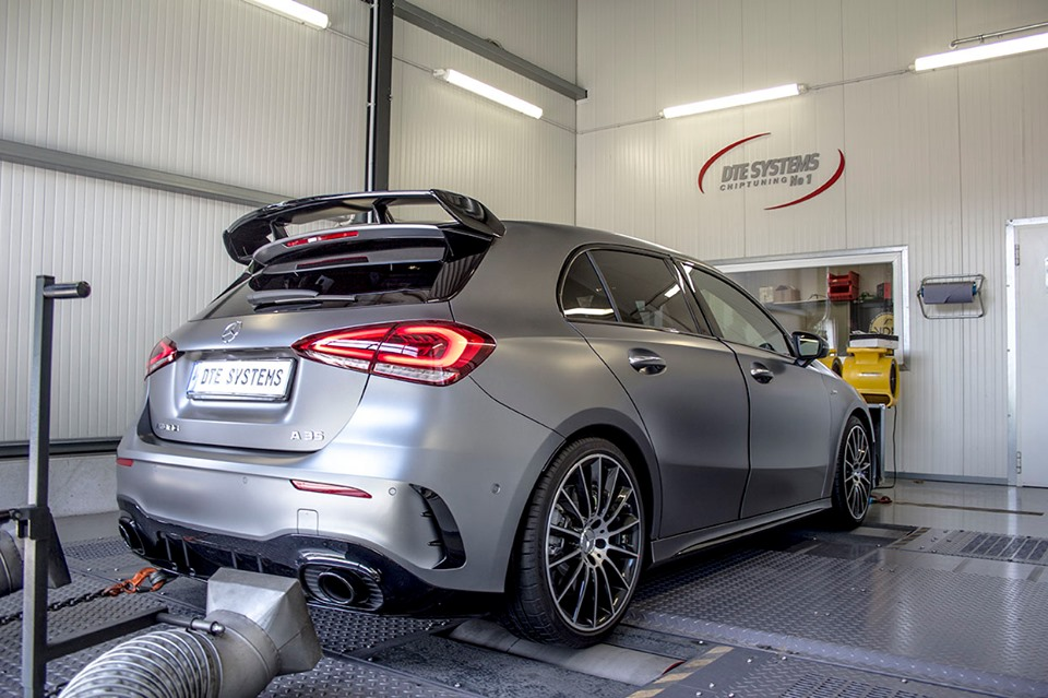 PowerControl chip tuning modul pre Mercedes-Benz A35 AMG