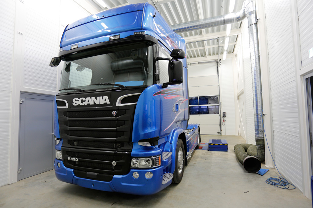 Scania R520 (Euro 6) chiptuning